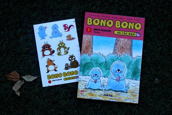 Bìa tập 1 của bộ truyện Bono Bono và các bạn.