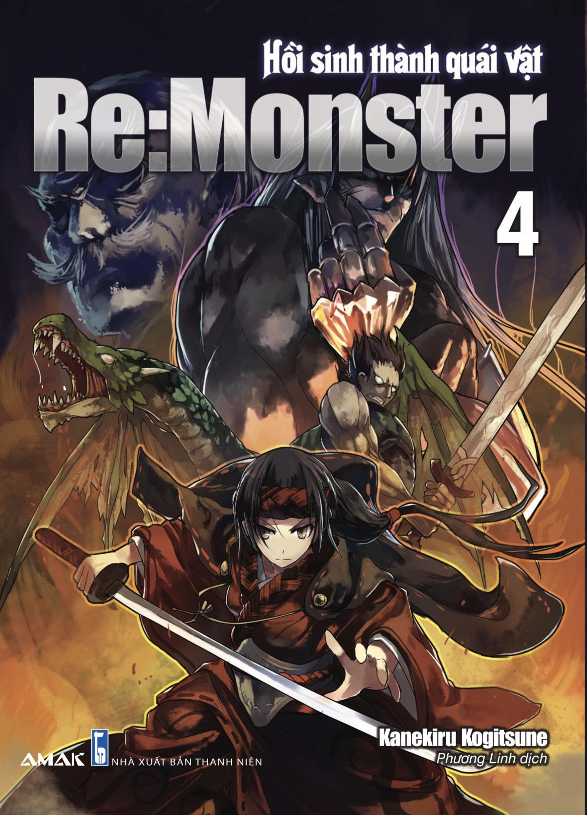 Re:Monster Hồi Sinh Thành Quái Vật - Tập 4