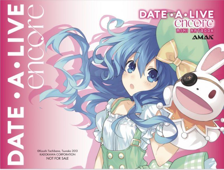 date-a-live-encore-tap-2-miniarbook